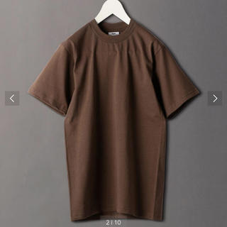 BEAUTY&YOUTH UNITED ARROWS - ROKU 6 PRO CLUB CREW NECK HEAVY Tシャツ