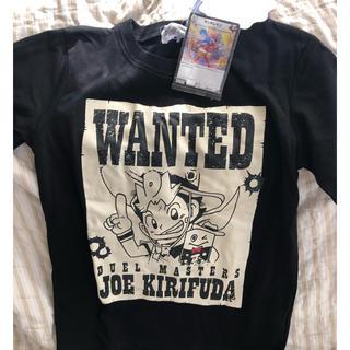 デュエルマスターズ(デュエルマスターズ)の【未使用】デュエルマスターズ Tシャツ 150cm カード付(Tシャツ/カットソー)