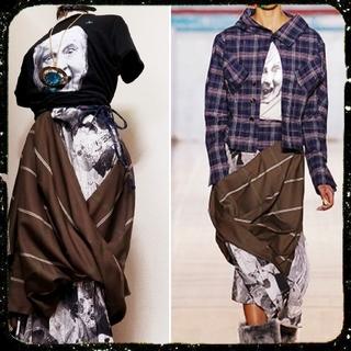 Vivienne Westwood - Puppet print・エイトスカート