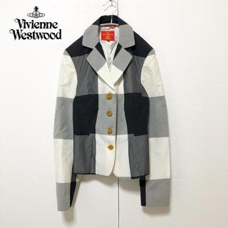 Vivienne Westwood - 【Vivienne Westwood】チェックテーラードジャケット