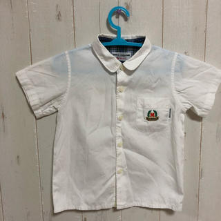 ミキハウス(mikihouse)のミキハウスコレクション フォーマル  半袖シャツ 80(シャツ/カットソー)