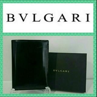 ブルガリ(BVLGARI)のBVLGARI 札入れ 黒色 箱付き(財布)