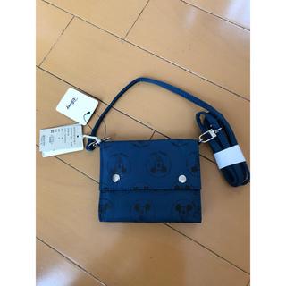 スタディオクリップ(STUDIO CLIP)の新品 スタジオクリップ ディズニー ミッキー 90周年記念 ショルダー付 財布 (財布)