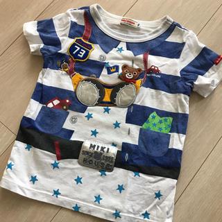 ミキハウス(mikihouse)のミキハウス だまし絵Tシャツ(Tシャツ/カットソー)