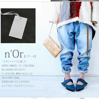 オシャレウォーカー☆ n'Orボーイズライクブラストデニム