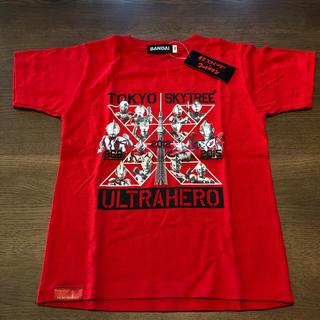 バンダイ(BANDAI)のウルトラマンTシャツ  サイズ130 新品未使用(Tシャツ/カットソー)