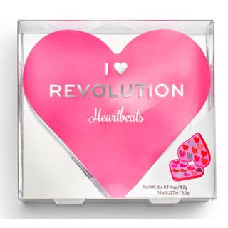 Sephora - makeup revolution ハート アイシャドウ パレット ピンク