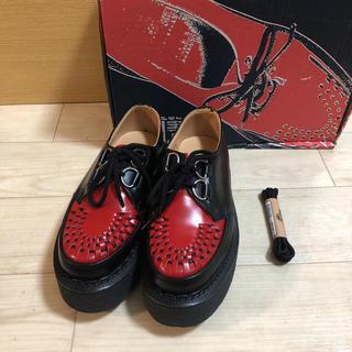 ジョージコックス(GEORGE COX)の【新品 希少】GEORGE COX 3588 VI D RING GIBSON(ローファー/革靴)