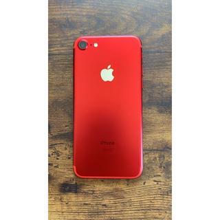 Apple - iPhone7 128GB RED SIMフリー