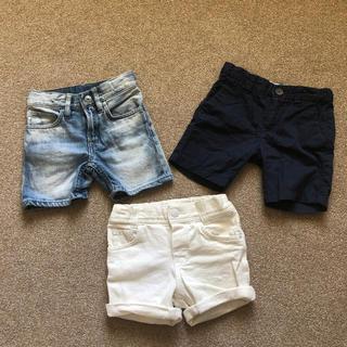 H&M - H&M◆ショートパンツ3点セット◆男の子1才半〜2才サイズ92