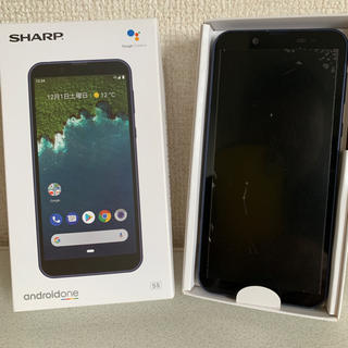 【SIMロック解除済】シャープ Android one S5