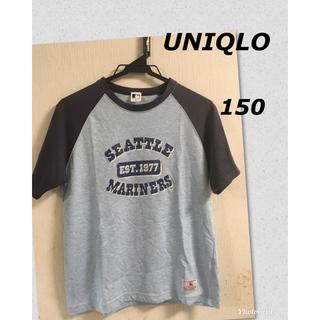 ユニクロ(UNIQLO)のユニクロ マリナーズ コラボ ベースボールTシャツ 150(Tシャツ/カットソー)