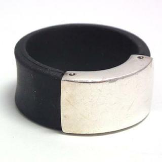 グッチ(Gucci)のGUCCI 10号 ラバーリング グッチ リング 指輪 ピンキーリング(リング(指輪))