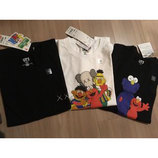 ユニクロ(UNIQLO)のお値下げ!ユニクロKAWSキッズコラボTシャツ 140(Tシャツ/カットソー)