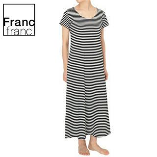 フランフラン(Francfranc)の❤新品タグ付き フランフラン FD ワンピース ボーダー❤(ルームウェア)