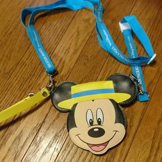 ミッキーマウス - チケットホルダー ミッキー