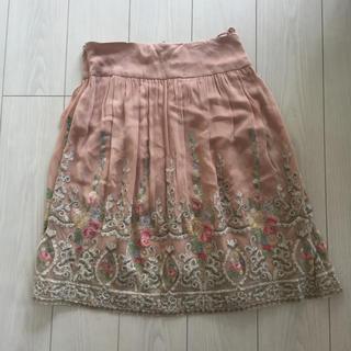 ラルフローレン(Ralph Lauren)のラルフローレン  シルク スカート(ひざ丈スカート)