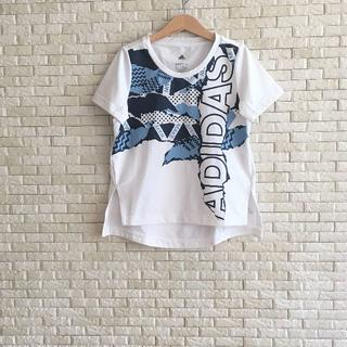 adidas - adidas(130cm) climalite半袖Tシャツ