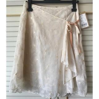 イヴマリアージュ(EVE MARIAGE)の刺繍・レーススカート(ひざ丈スカート)