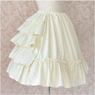 Victorian maiden - 【送料無料】ヴィクトリアンメイデン フリルコットンアンダースカート