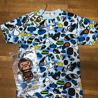 A BATHING APE - アベイシングエイプ カウズ Tシャツ