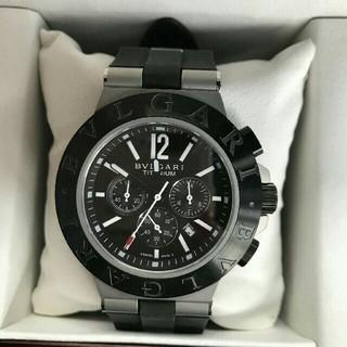 ブルガリ(BVLGARI)のブルガリ bvlgari メンズ腕時計  ステンレス シルバー クロノグラフ (腕時計(アナログ))