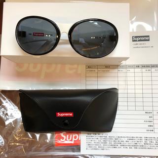 Supreme - supreme Orb Sunglasses サングラス 白/黒 シュプリーム