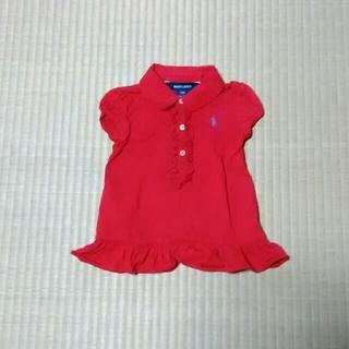 ラルフローレン(Ralph Lauren)のラルフローレン  ポロシャツ 80 赤(Tシャツ)