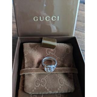 Gucci - 【GUCCI】グッチ シルバーリング 指輪 8号