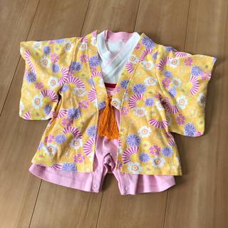 ベビー 羽織り付きカバーオール 60cm