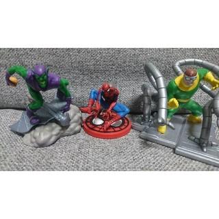 マーベル(MARVEL)のスパイダーマン フィギュア コミック版 3体セット【ゴブリン オクトパス】(アメコミ)