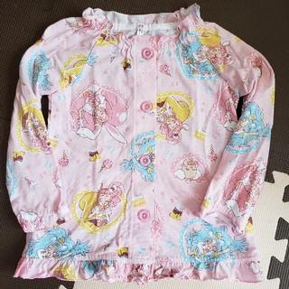 バンダイ(BANDAI)のキラキラプリキュアアラモード 長袖パジャマ 110サイズ (パジャマ)