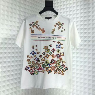 ルイヴィトン(LOUIS VUITTON)のLV LOUIS VUITTON ルイヴィトン Tシャツ レディース美品(Tシャツ(半袖/袖なし))