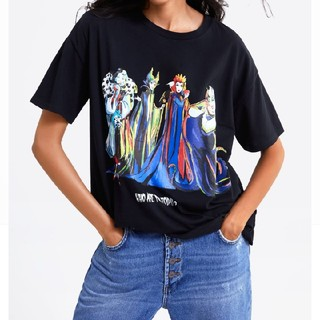 ZARA - ヴィランズ tシャツ
