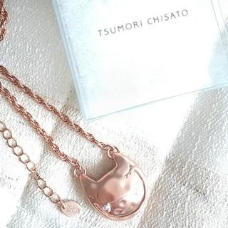 ツモリチサト(TSUMORI CHISATO)のTSUMORI CHISATO ネックレス 猫モチーフ PG(ネックレス)