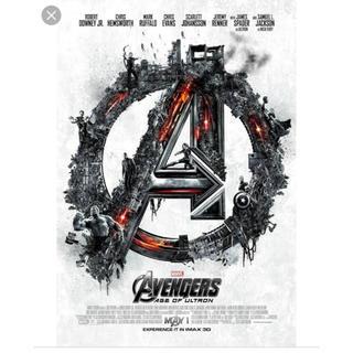 マーベル(MARVEL)のアベンジャーズ エイジオブウルトロン IMAXポスター AOU(アメコミ)