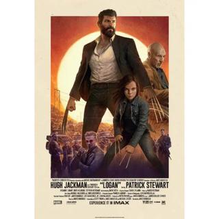 マーベル(MARVEL)のローガン LOGAN IMAXポスター(アメコミ)