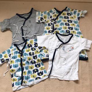 西松屋 - 新生児 肌着 4枚