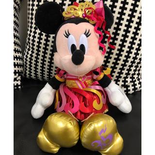 Disney - ディズニー35周年限定☆ミニーちゃん☆ぬいぐるみ