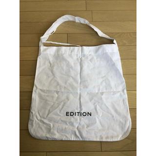 エディション(Edition)のedition ショッパー(ショップ袋)