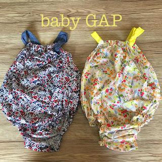 babyGAP - baby GAP カバーオール ショートオール 2枚セット