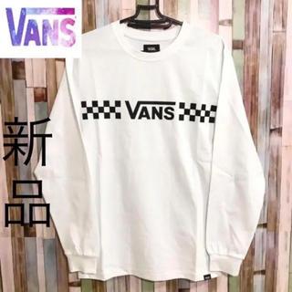 ヴァンズ(VANS)のB0386 バンズ ロンT(Tシャツ/カットソー(七分/長袖))