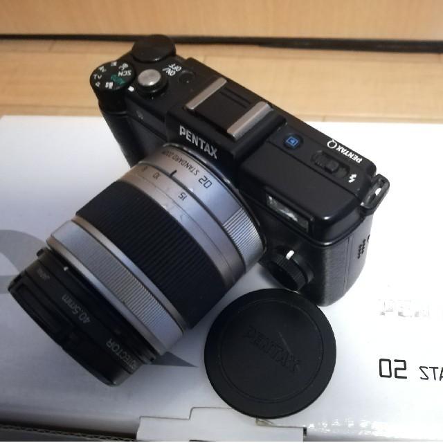 PENTAX(ペンタックス)のPENTAX Q 02 STANDARD ZOOM キット(ボディ・レンズ) スマホ/家電/カメラのカメラ(ミラーレス一眼)の商品写真