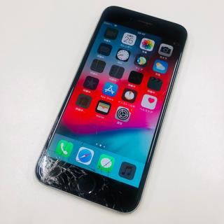 Apple - ☆ジャンク☆画面割れ☆SoftBank iPhone6 16GB グレー