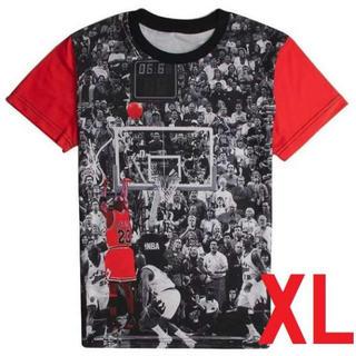 新品XL NBA マイケル ジョーダン バスケ T シャツ シカゴ ブルズ 半袖