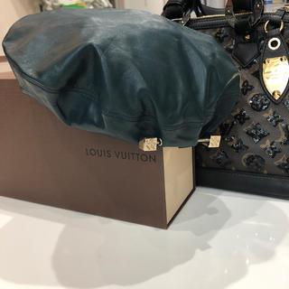ルイヴィトン(LOUIS VUITTON)のルイヴィトン  帽子 正規品 Lサイズ(ハンチング/ベレー帽)
