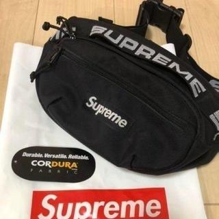 Supreme - シュプリーム ウエストバッグ(ブラック)