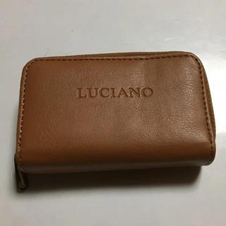 革製  Wファスナー  キーケース付  財布  小銭入れ カード