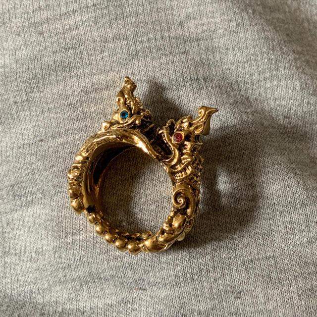 Gucci(グッチ)のシードラゴンリング メンズのアクセサリー(リング(指輪))の商品写真