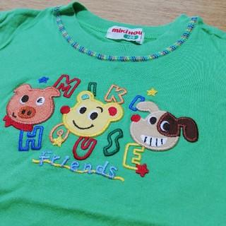 ミキハウス(mikihouse)のmikihouse レトロ Tシャツ 100(Tシャツ/カットソー)